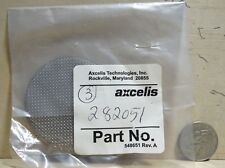 3 Pack Axcellis Screen For Vacuum Line 282051 Part # 548651 Rev.A