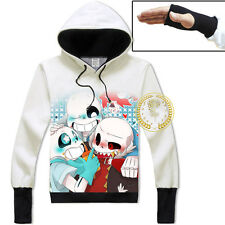 Undertale Sans/Papyrus Skeleton Warm Design Jacket Hoodie Unisex Coat#15-SL-18