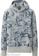 ANDY WARHOL x UNIQLO 'Camouflage' Sweat L/S Hoodie Men's M Sweatshirt **NEW**