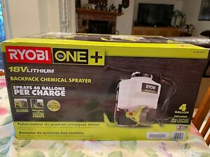 BRAND NEW - RYOBI ONE 18V Backpack Chemical Sprayer Battery & Charger LAST ONE!