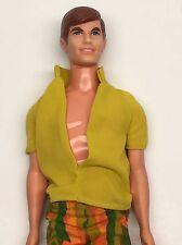 Vintage Ken Barbie Doll #1124 1968 Original Clothes Bendable Legs