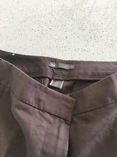 Gap Linen Blend Wide Leg Trousers Size 6