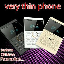IFcane E1: ( white) Mini Cell Card Mobile Phone Student Version GSM FM Bluetooth