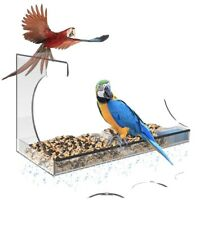 New listing Window Bird Feeder with Strong Suction Cups , Clear Outdoor Birdfeeders