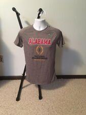 Alabama Crimson Tide 2016 National Champions Performance T Shirt Mens Small