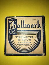 Hallmark Typewriter Ribbon Cameron Manufacturing ROYAL Black Record Medium Inked