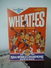 Lakers NBA World Champions   Wheaties Box 1987-1988
