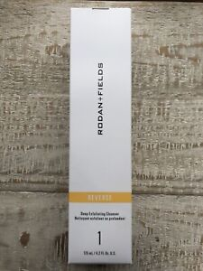 NEW Rodan + and Fields Reverse Step 1 Deep Exfoliating Cleanser Wash 4.2oz