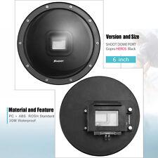 6 Zoll Underwater Dome Ports Tauchen Surfen Cover Lens Für GoPro Hero 5 Kamera