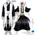 Bleach 11th Division Squad 11 Team 11 Captain Cosplay Costume Full Set FREE P&P