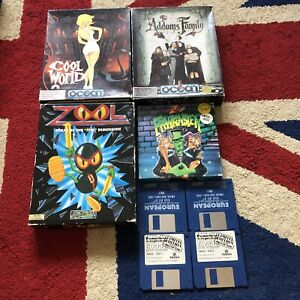 Commodore Amiga Game Bundle Joblot. x 6 Games