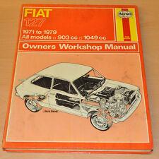 FIAT 127 1971 - 1979 Reparaturanleitung Haynes H193 Repair Manual