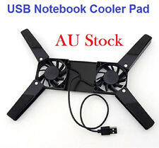 USB Laptop Cooling Fan Cooler Pad Stand Base Cradle Notebook Computer Netbook