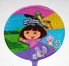 "DORA THE EXPLORER Nickelodeon Cartoon Character 18"" FOIL BALLOON SET 5 Pcs New"