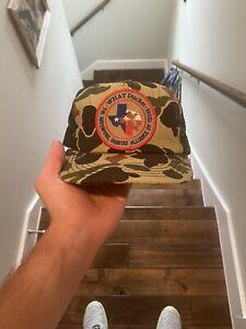 vintage camo hat waterfowl duck hat