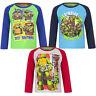 Neu Pullover Langarmshirt Jungen Ninja Turtles grün blau rot 98 104 116 128 #43