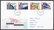 Transport and Communications 1988 First Day Cover SG1392 to SG1395 Derby