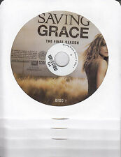 Saving Grace: Season Three - The Final Season (DVD, 2010, 5-Disc Set) NCV
