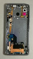OEM LG G7 ThinQ LCD Platinum Gray Screen Digitizer Assembly Frame G710 LMG710U