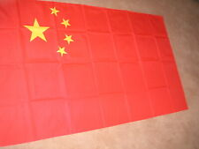 CHINA PEOPLE'S REPUBLIC  CHINESE FLAG  5'X3'
