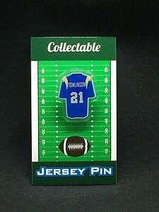 Los Angeles Chargers LaDainian Tomlinson jersey lapel pin-Classic LT Collectable