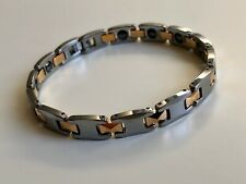 Magnetic therapy Tungsten Bracelet Pain Relief, Energy, Health, Stamina, Ions