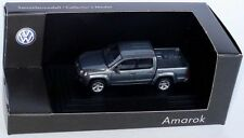 VERY RARE VW AMAROK TSI TDI 2K 4X4 NATURAL GREY 1:87 WIKING (OEM DEALER MODEL)