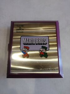 1983 Nintendo Mario Bros - Game and Watch Multi Screen Game tested-working