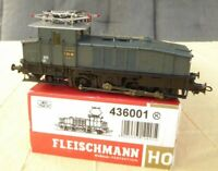 Fleischmann 436001 H0 Altbau -Stangen-Elektro-Lok E 60 08 DRG Epoche 2 DSS , OVP