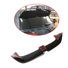 For Volkswagen VW GOLF VII 7 GTI &R 14-17 Rear Window Spoiler Wing Glossy Black