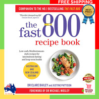 BRAND NEW 2019 The Fast 800 Recipe Book Paperback Recipes Cookbook Low Carb Diet