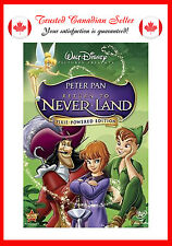 Return to Never Land (DVD, 2007, Pixie Powered Edition)
