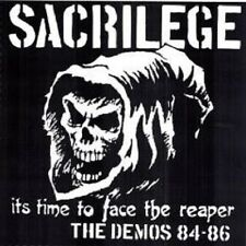 Sacrilege It's Time to Face the Reaper, Demos 1984-1986 double LP