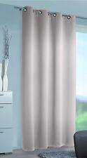 Gardinen Vorhang Sonnenschutz Ösenschal Mia 140 x 245 Verdunkelungsstoff Posten