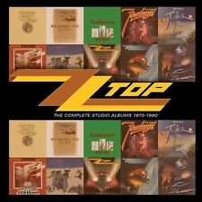 The Complete Studio Albums 1970-1990 by ZZ Top (CD, Jun-2013, 10 Discs, Warner Bros.)