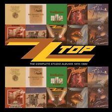 The  Complete Studio Albums 1970-1990 by ZZ Top (CD, Jun-2013, 10 Discs,...