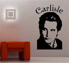 Twilight Carlisle Edward autocollant Art Mur Décalques en vinyle