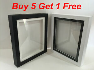 3D Deep rebate Box Picture Frame Display Memory Box Medals Memorabilia Flowers