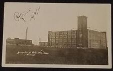 1910 WABASSO COTTON MANUFACTURE TROIS-RIVIERES, QUE, CANADA REAL PHOTO POSTCARD