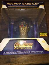 Funko Pop Dome Infinity Gauntlet Avengers Infinity War Hot Topic Exclusive