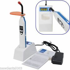 New 2 in 1 Wireless LED Dental Curing Light Lamp and Caries detection 2000MW