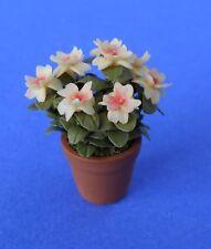Miniature Dollhouse Azalea Flowers Plant 1:12 Scale New