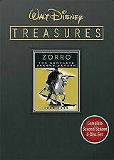 Walt Disney Treasures - Zorro The Complete Second Season (DVD, 2009) BRAND NEW