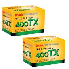 2 Rolls Kodak TX 400-36 Tri-Pan 135-36 Black & White 35mm Film, FRESH