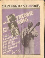 OOR 1973 15 Van Morrison NICO Freddie King FORTUNES Jimi Hendrix GRONINGEN