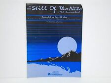 """Sheet Music """"In the Still of the Nite I'll Remember"""" Recorded by Boyz II Men VG"""