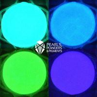 Glow in the Dark Paint Fluorescent Pigment Powder for Nail Art Polish PlastiDip