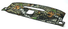NEW Mossy Oak Break-Up Camo Camouflage Dash Mat Cover / FOR LISTED CHEVY TRUCK