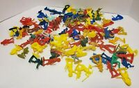 Vintage Assorted Lot of Cowboys, Indians and Army Men EUC
