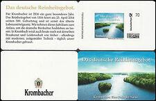Krombacher Portocard - Das deutsche Reinheitsgebot - 70 Cent - Bier